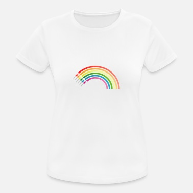 Led LED Rainbow - Women's Sport T-Shirt