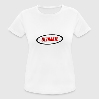 Ultimate - Dame T-shirt svedtransporterende
