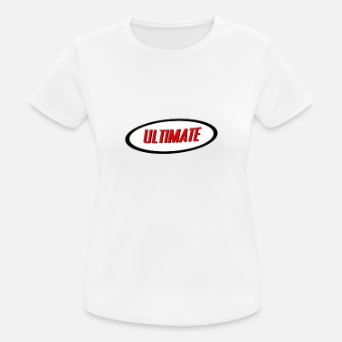 Ultimate Ultimate - vrouwen T-shirt ademend