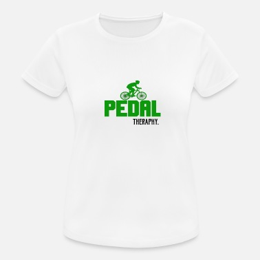 Pedale PEDAL THERAPHY - Frauen T-Shirt atmungsaktiv