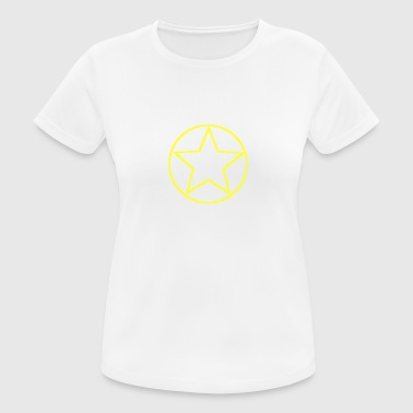 yellow star sun symbol - Women's Breathable T-Shirt