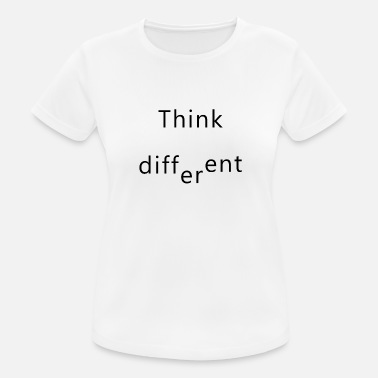 Think Different think different - Women's Breathable T-Shirt