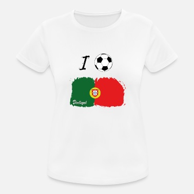 Portugal I Football Portugal 2018 Tshirt World Cup - Women's Sport T-Shirt