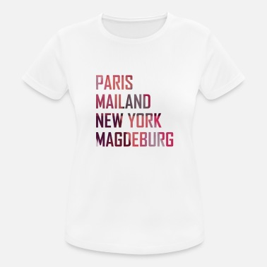 Magdeburg Magdeburg - Women's Breathable T-Shirt