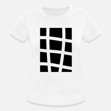 Grid grid - Women's Breathable T-Shirt