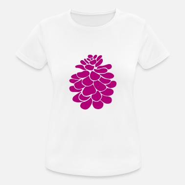 Magenta Magenta pinecone - Women's Breathable T-Shirt