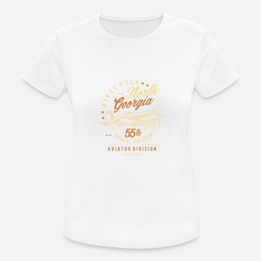 North Yorkshire Wings Over North Georgia - T-shirt sport Femme