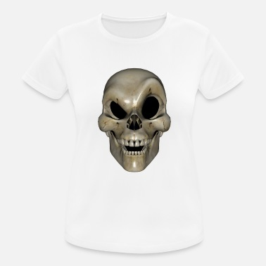 Drawing Smart Skull - Women's Sport T-Shirt