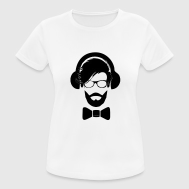 the audio book magazine hipster1 - Women's Breathable T-Shirt