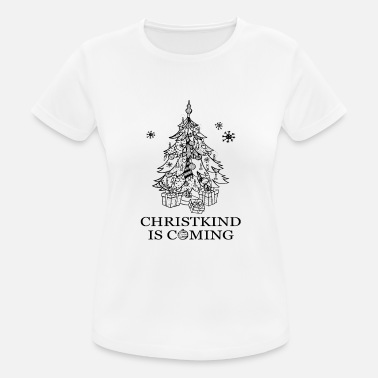 Christkind kommer - Sports T-shirt dame