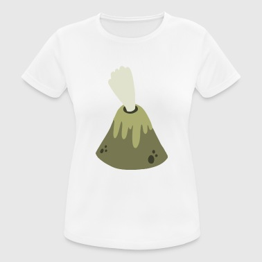 volcán - Camiseta mujer transpirable