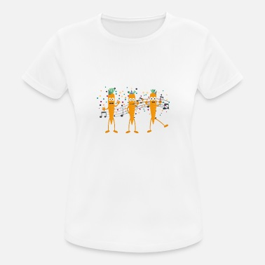 Carrot Party carrots - Women's Sport T-Shirt