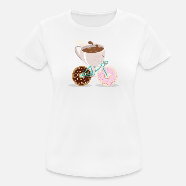 Donut Donut Coffee Bicycle - Vrouwen sport T-shirt