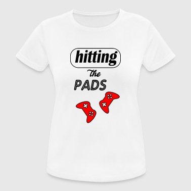 hitting the pads - Women's Breathable T-Shirt