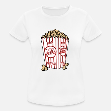 Popcorn Popcorn cup - Women's Breathable T-Shirt