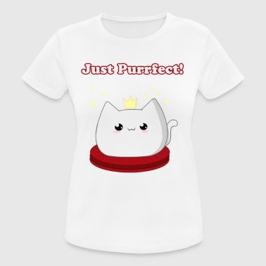 Character Cat Princess - vrouwen T-shirt ademend