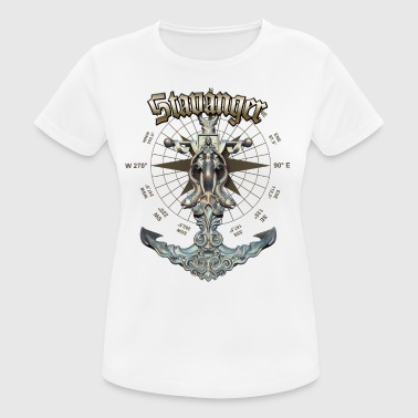 Stavanger Anchor Nautical Sailing Boat Summer - Women's Breathable T-Shirt