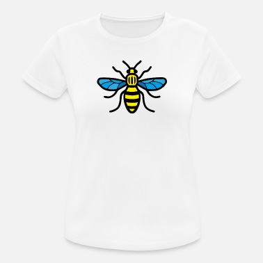 Manchester Manchester Bee (Colour) - Women's Breathable T-Shirt