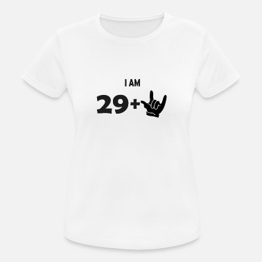 Metal Fork I am 29 + metal fork - Frauen Sport T-Shirt