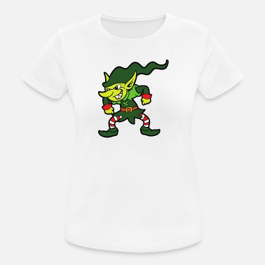 Grinch Grinch Christmas Elf Elf Christmas Christmas - vrouwen T-shirt ademend
