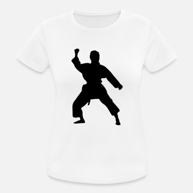 Vêtement Olympe Kung fu fighter silhouette 5 - T-shirt respirant Femme
