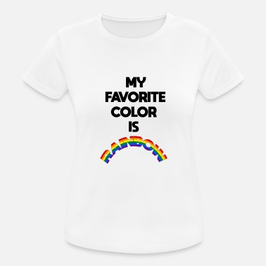 Equalizer My favorite color is rainbow - Women's Sport T-Shirt
