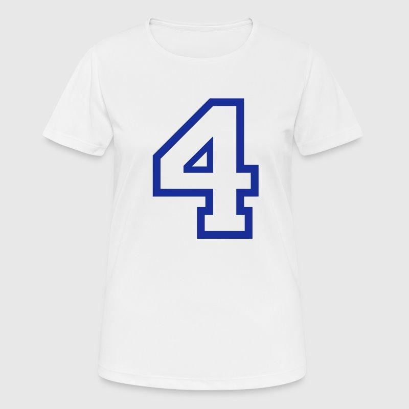 el nÚmero 4 4 por funkmaster spreadshirt