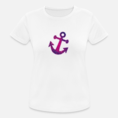 Astronomy Silhouette Anchor Silhouette Galaxy Space Universe - Women's Breathable T-Shirt