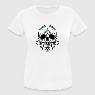 suchbegriff 39 mexikanisch totenkopf skull 39 t shirts online bestellen spreadshirt. Black Bedroom Furniture Sets. Home Design Ideas