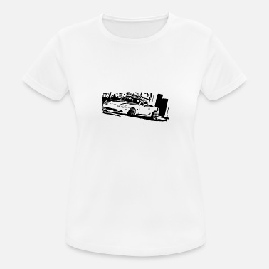 Convertible MIATA MK2 MX5 - Women's Sport T-Shirt
