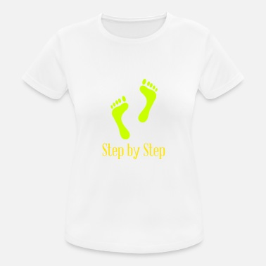 Steps Step by Step - Women's Sport T-Shirt