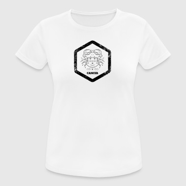 Hexagon · Zodiac Signs · Cancer · Cancer - Women's Breathable T-Shirt