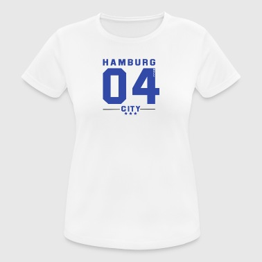 Hamburg CITY - Frauen T-Shirt atmungsaktiv