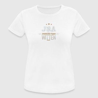 Bachelor Party JGA Witten Drinking Team - Women's Breathable T-Shirt