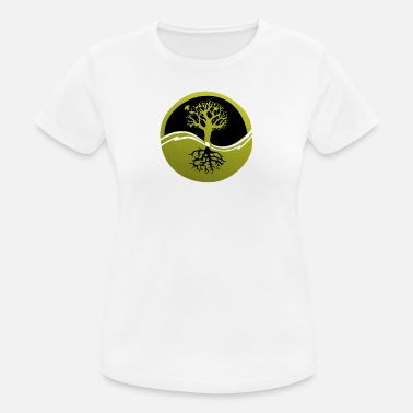 Root Tree with roots - Women's Sport T-Shirt