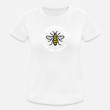 Manchester Manchester - Bee Not Afraid - Women's Breathable T-Shirt
