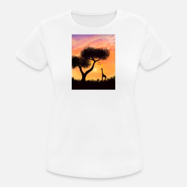Unity African Sunset - Women's Breathable T-Shirt