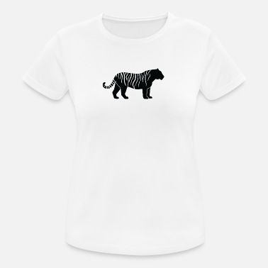 Killer Pictogram A Tiger-hunting - Women's Breathable T-Shirt