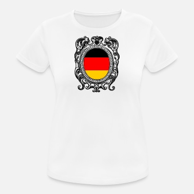 Flag Of Germany Germany flag Germany flag - Women's Breathable T-Shirt