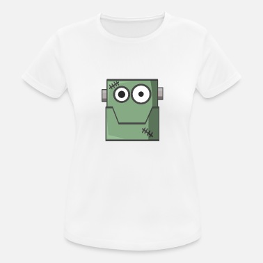 Comic Book Frankenstein Comic Book - Women's Sport T-Shirt