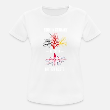 The British Empire Germany with British roots gift - Women's Sport T-Shirt