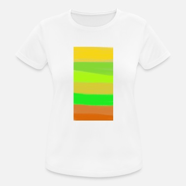 Degradado Arte degradado - Camiseta mujer transpirable