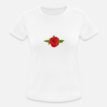 Red Rose red rose Great and beautiful gift idea for everyone - Women's Sport T-Shirt