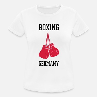 Mixed BOXING GERMANY - Frauen Sport T-Shirt