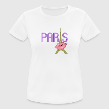 Paris design shirt for women - Women's Breathable T-Shirt