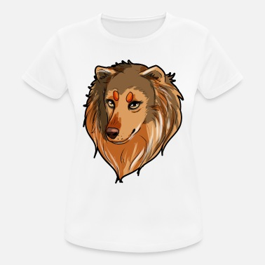 Collie Collie Longhair Collie Border Collie Bearded Collie - Dame T-shirt svedtransporterende