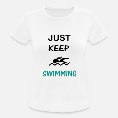 Sport Swimming Swim Swimmer Gift - Women's Sport T-Shirt