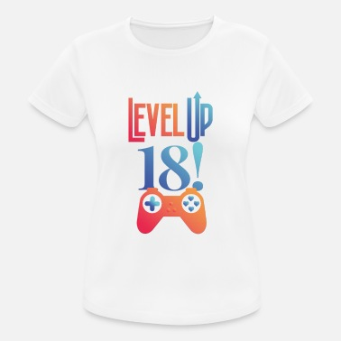 18th Birthday Funny gift for 18th birthday for gamers - Women's Sport T-Shirt