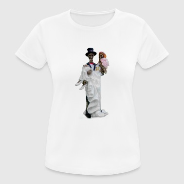 Ghost Couple Ghost couple - Women's Breathable T-Shirt