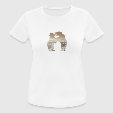 bear brown - Women's Breathable T-Shirt